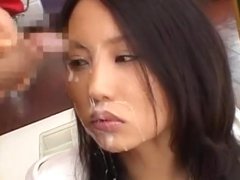 Hottest Japanese slut in Horny Facial, Cumshot JAV video
