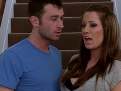 James Deen lickes sweet ass of Courtney Cummz