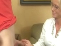 Wicked Older Lady Can't Live Without Jerking