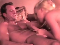 Tight-bodied blonde loves to get licked by a virile beef cake