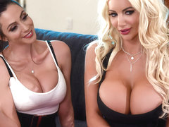 Ariella Ferrera & Nicolette Shea & Johnny Sins in Parent Teacher Cumference - BrazzersNetwork