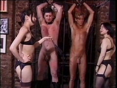 Oriental mastix doxies punishment a boy-friend with a diminutive knob
