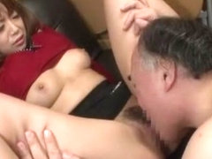 Best Japanese chick in Horny Cunnilingus, Hardcore JAV clip