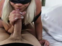 Gorgeous babe has her stepbrother's long stick making her pussy happy
