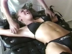 Tickling Miranda from Tickleslaves