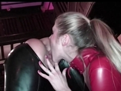 Crazy pornstars Keira Pharell, Jane Darling in Horny Stockings, Latex porn scene