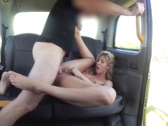 John & Shona River in Sweet Ass Babe Loves Doggystyle - FakeTaxi