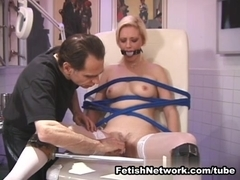FetishNetwork Movie: Angelica's Painful Examination