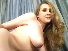 Amy Valor looks amazing with her big boobs oiled up and her pussy full of dick
